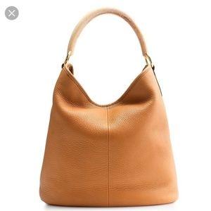 J.Crew Horn Hobo Leather Bag